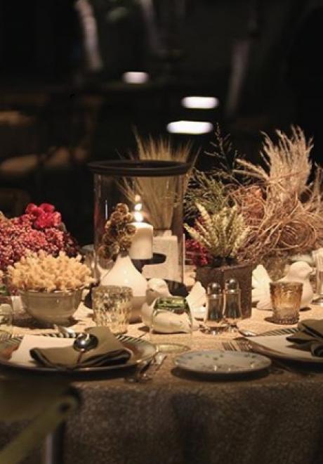 حفل زفاف بثيم الحديقة الساحرة في جدة