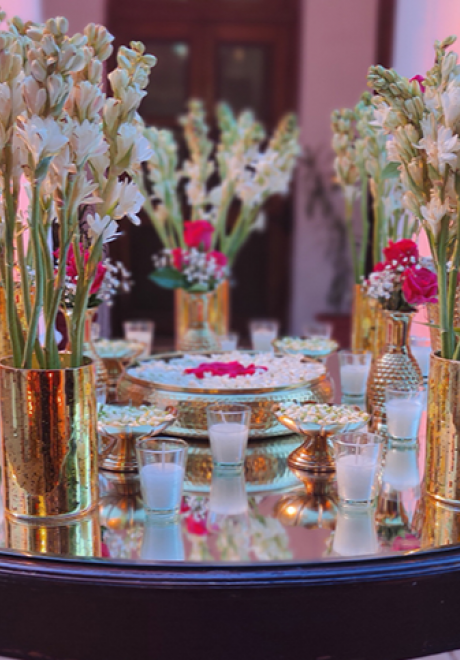 إف بي سيليبريشن تنظم حفل زفاف ساحر لجوريك وسيمران كور موندي