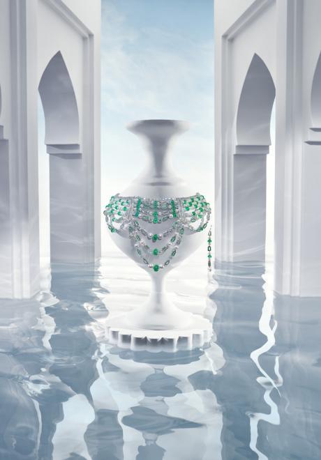 دار بولغري تطلق مجموعة جنّة في متحف اللوفر- أبوظبي