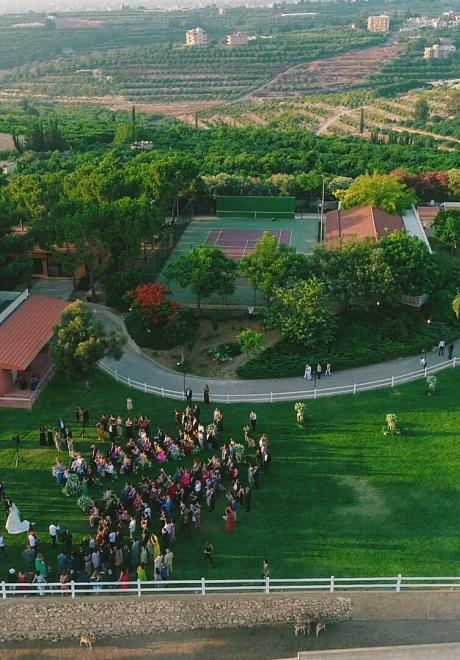 A Garden of Love Wedding in Lebanon