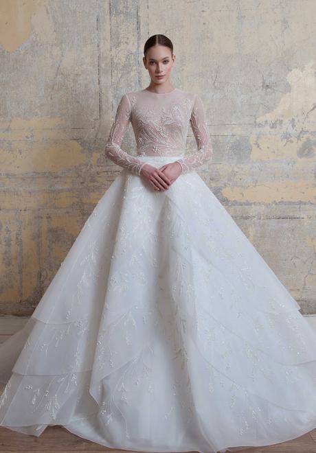 مجموعة فساتين زفاف جورج حبيقة لربيع وصيف 2020