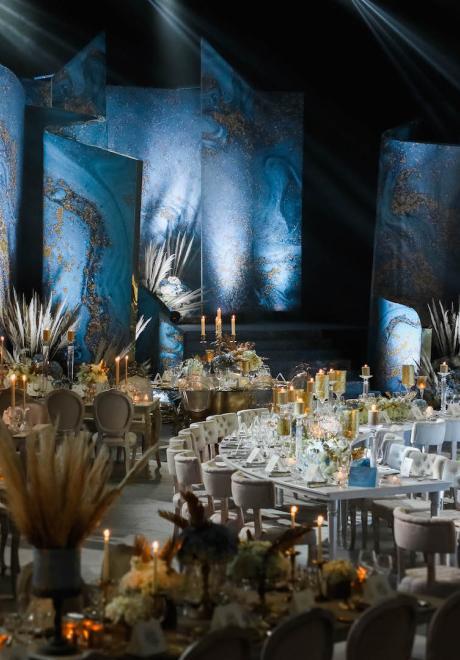حفل زفاف حنا وميرابيل الشتوي في لبنان