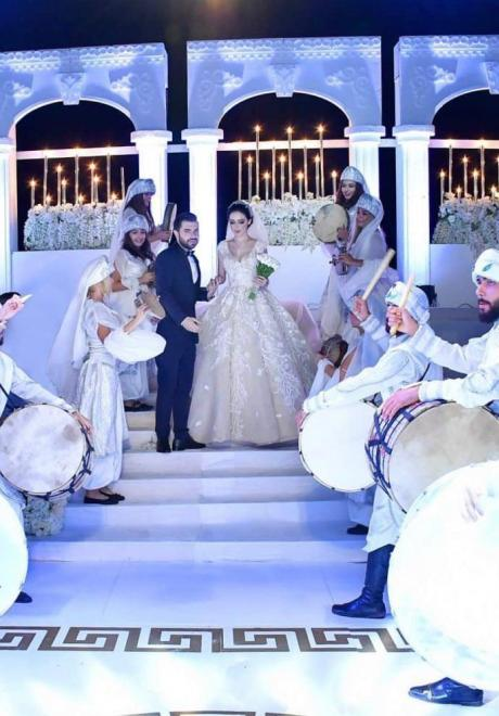 A Royal Inspired Wedding in Syria
