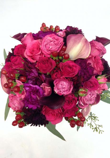 14 Romantic Pink Wedding Bouquets