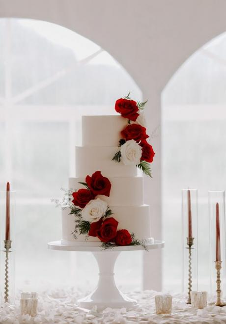 Your Elegant Wedding Flower: Red Roses