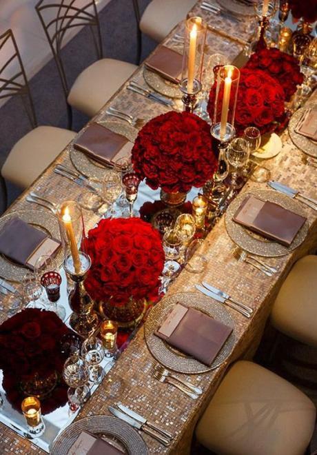 Your Elegant Wedding Flower: Red Roses