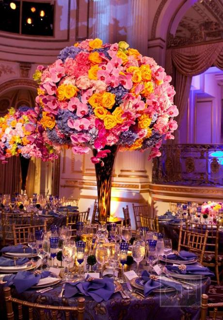 Statement Flower Centerpieces For Your Wedding