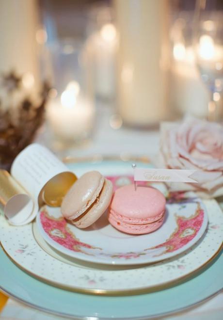 حفل زفاف بثيم الماكرون