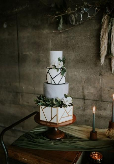 Super Modern Wedding Cakes