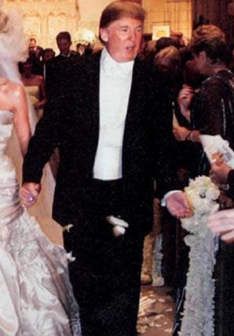 Wedding Dress Inspiration from Donald Trump's Wife Melania Knauss