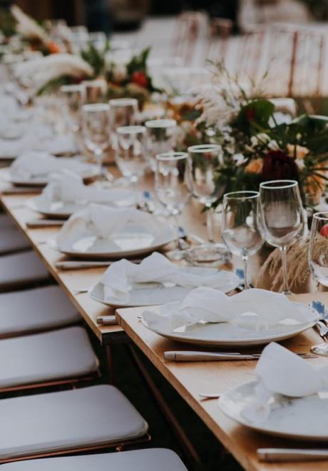 حفل زفاف سارة وغابي بثيم فينيقي