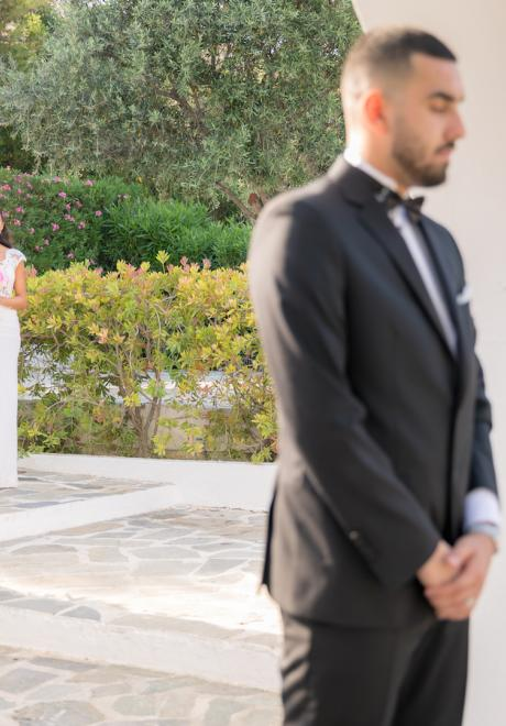 Hannah and Eisa's 'Summer Love' Wedding in Greece