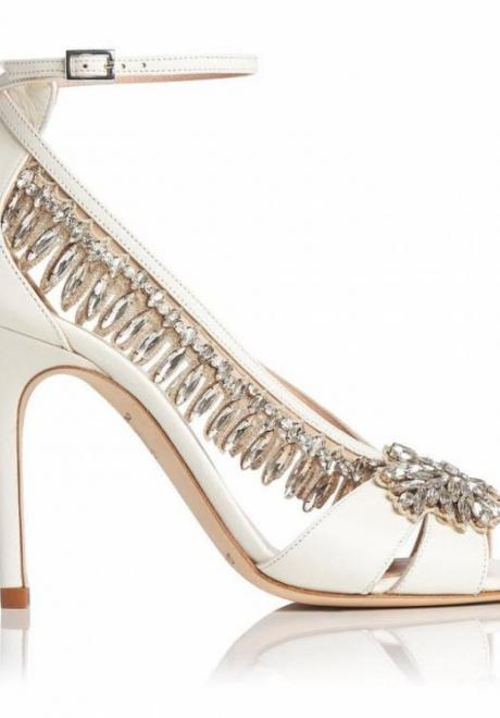 Beautiful Bridal Shoes For The Elegant Bride