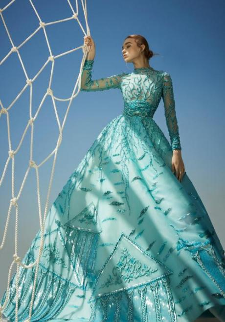 Modest Haute Couture Dresses For Your Engagement