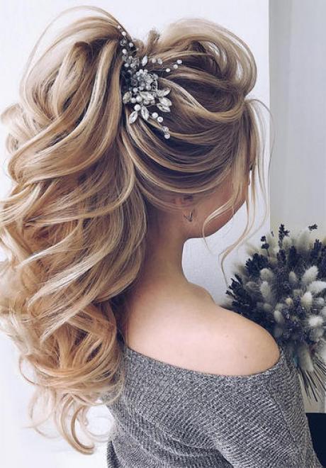 Bridal Hair Trend: The Ponytail