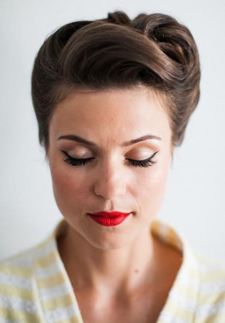 Retro Glam Bridal Hairstyles