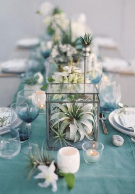 Greenery Wedding Table Settings 9
