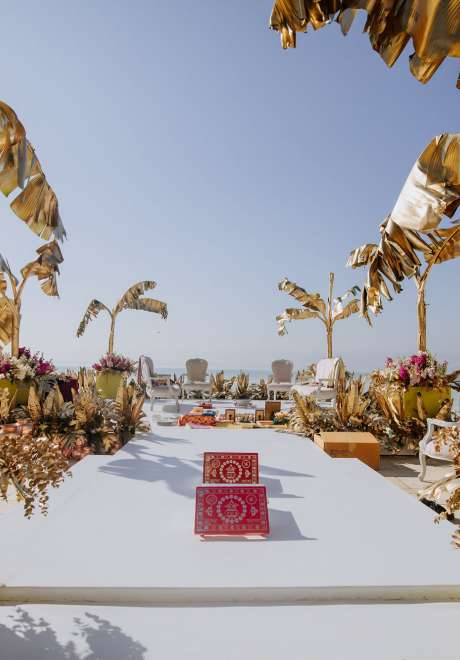 Indian Destination Wedding at the Dead Sea