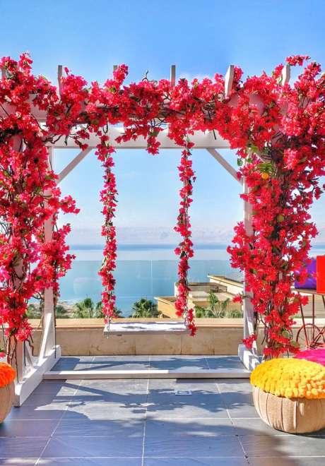 حفل زفاف هندي في الأردن