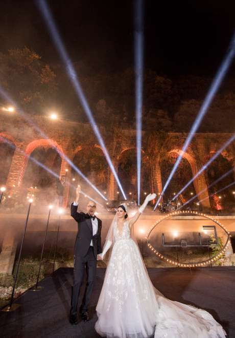 A Fairy Tale Garden Wedding in Lebanon