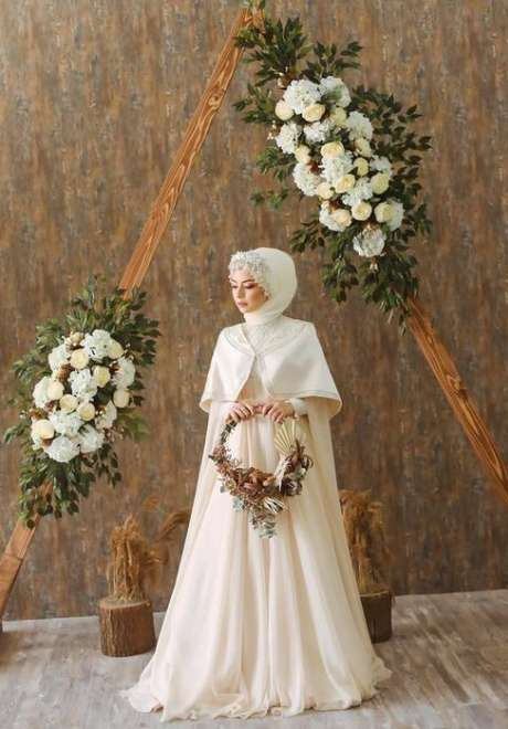 Floral Crowns for Bridal Hijab 5