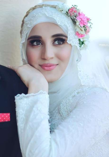 Floral Crowns for Bridal Hijab 6