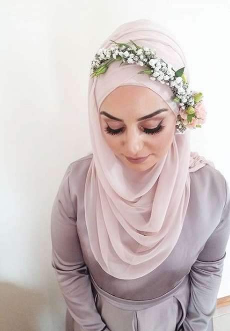 Floral Crowns for Bridal Hijab 7