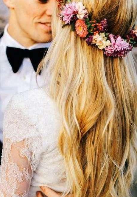 تيجان الأزهار للعروس