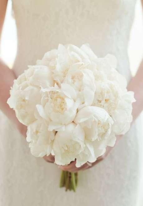Peonies Wedding Bouquet 1