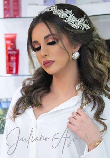 Julian Asmar Bridal Hairstyle
