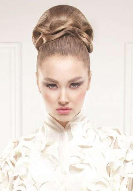 Talal Tabara Bridal Hairstyle
