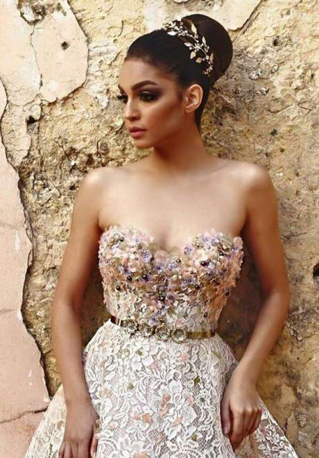 Talal Tabara Bridal Hairstyle 10