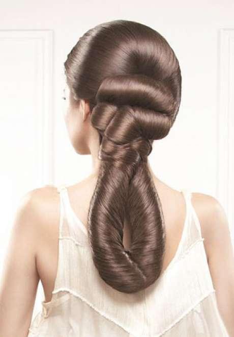 Talal Tabara Bridal Hairstyle 2