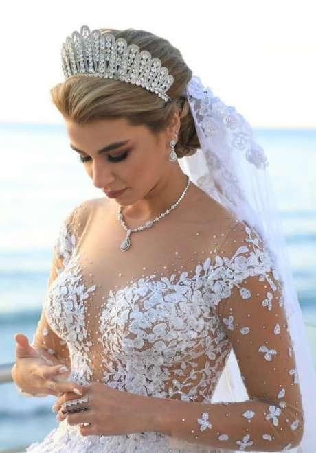 Talal Tabara Bridal Hairstyle 5