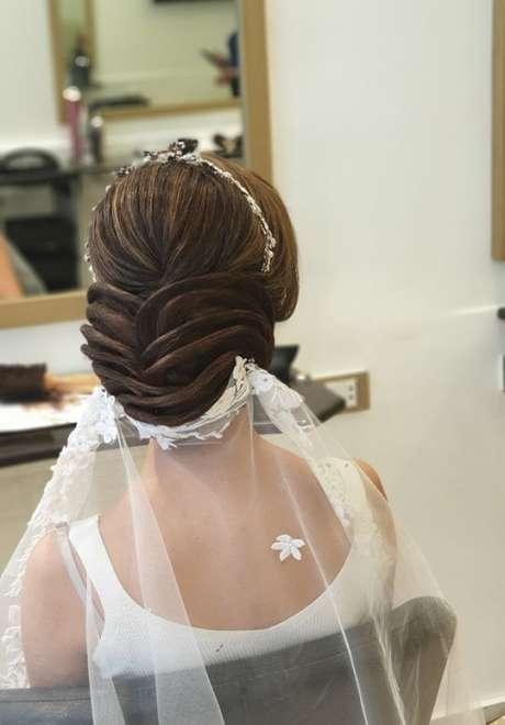 Talal Tabara Bridal Hairstyle 6