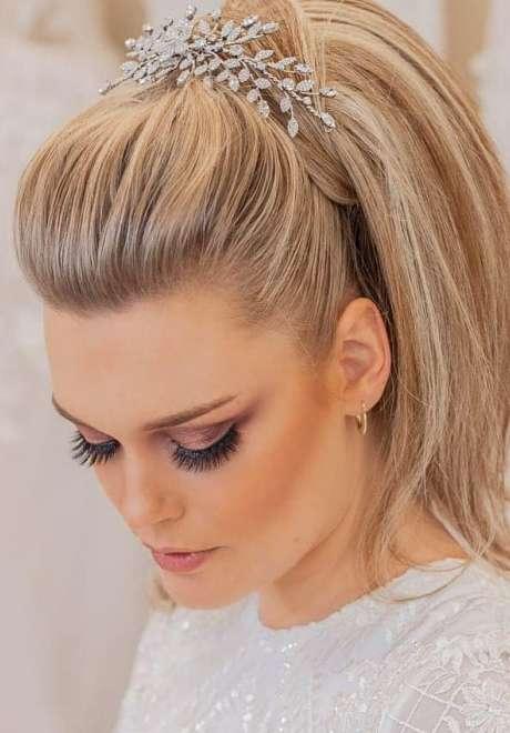 Talal Tabara Bridal Hairstyle 8