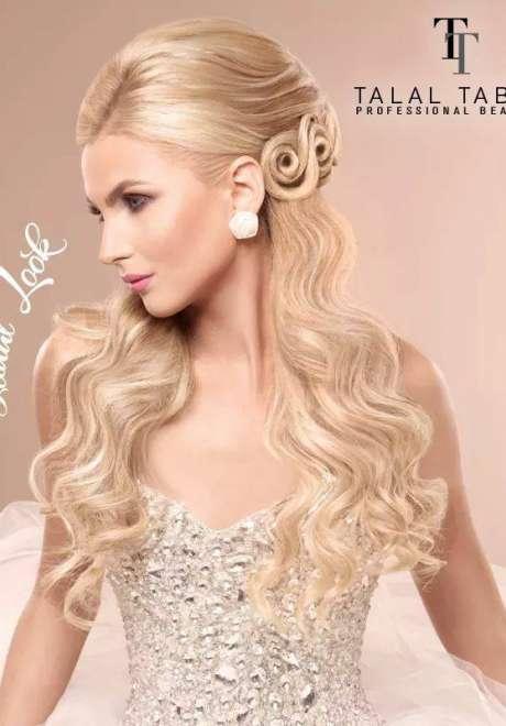 Talal Tabara Bridal Hairstyle 9