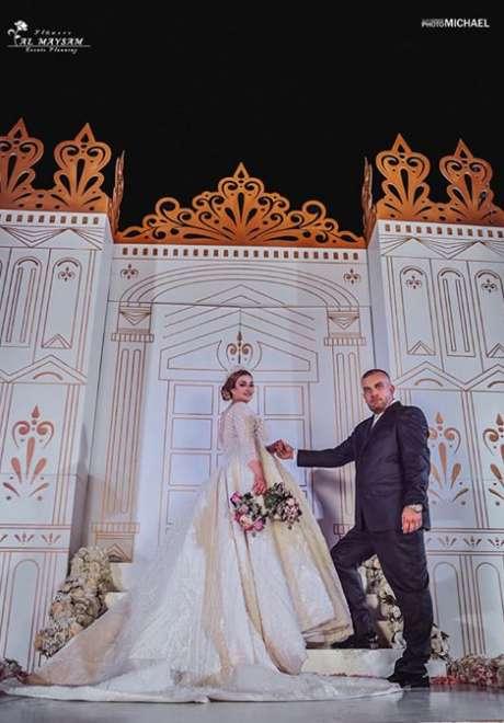 حفل زفاف مجد ويارا في سوريا