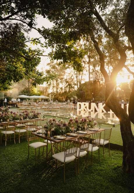 An Enchanting Outdoor Wedding in North Lebanon