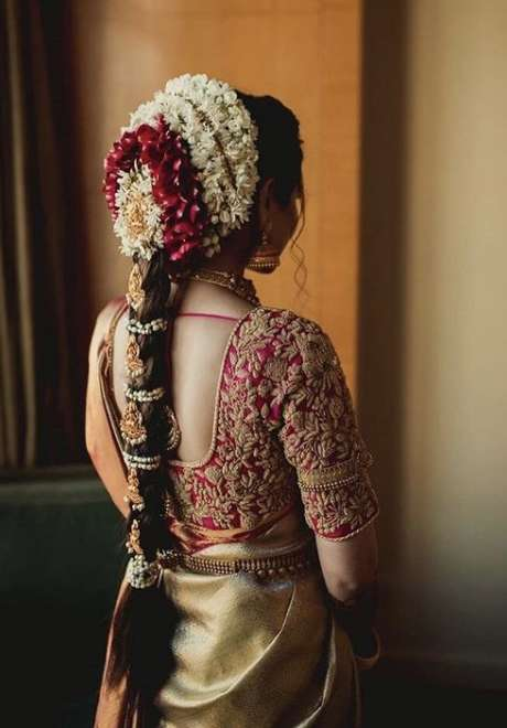 Indian Bridal Hairstyle 9
