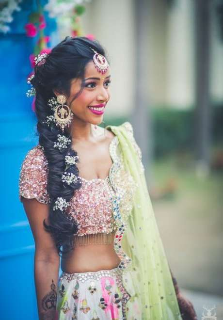 Indian Bridal Hairstyle 11