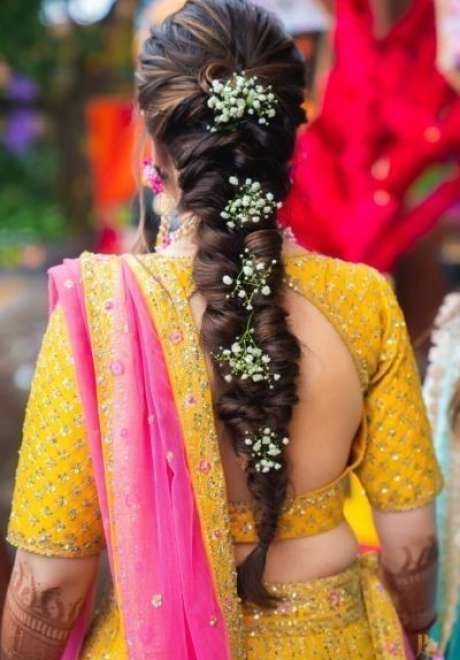 Indian Bridal Hairstyle 12
