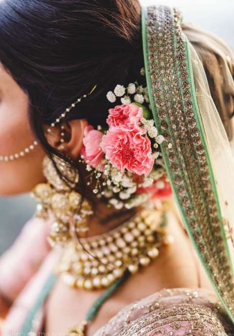 Indian Bridal Hairstyle 3