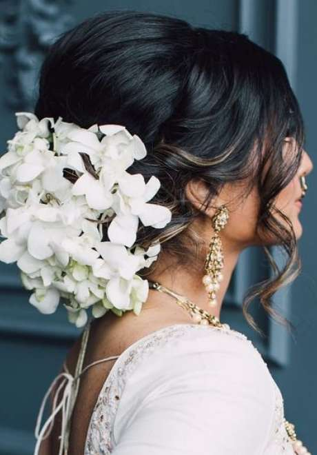 Indian Bridal Hairstyle 5