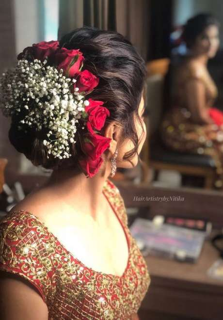 Indian Bridal Hairstyle 6
