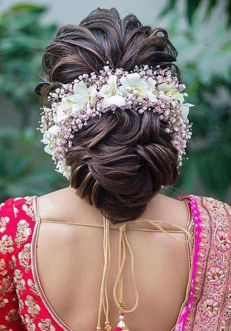 Indian Bridal Hairstyle 7