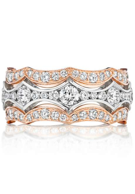 Wedding Ring Trend: Mixed Metal