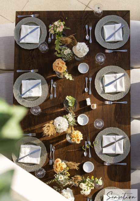 حفل زفاف بثيمعتيق وبوهيمي مذهل في الأردن.