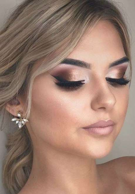 Gorgeous Fall Bridal Makeup Looks