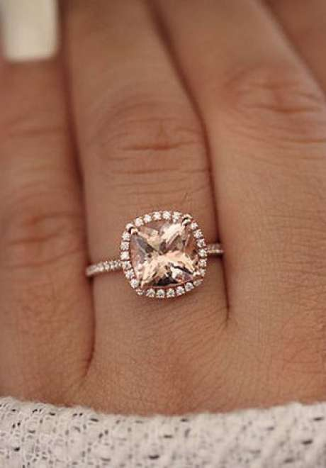 Rose Gold Wedding Rings for The Trendy Bride